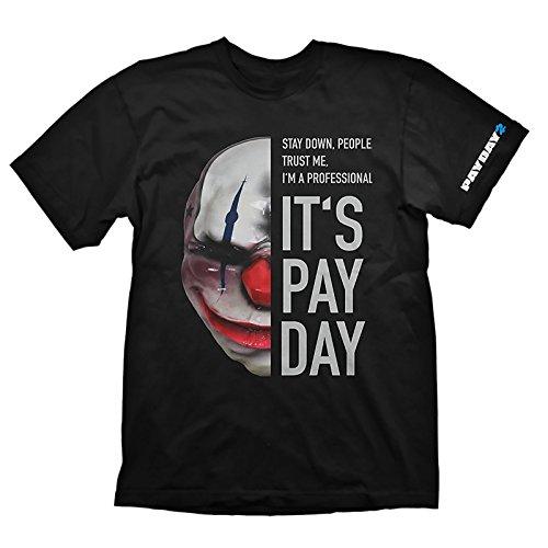 Preisvergleich Produktbild Payday 2 T-Shirt Chains Maske zum Spiel schwarz Baumwolle - XXL
