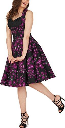 Vintage Kleid im 50er Jahre Stil Schwingender Rock - 5