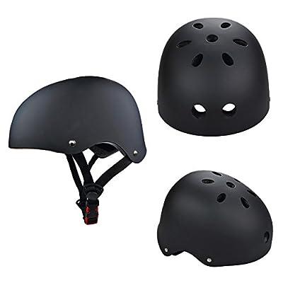 Verbesserung SymbolLife Skate / BMX Helm, Skateboarding Helmet Motorroller Helm fahrradhelm mit Drehrad-Anpassungs Systeme 3 Size (S M L ) geeignet für Kinder / Jugendlicher / Erwachsenen CE TÜV Zulas