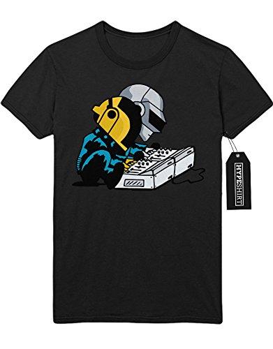 T-Shirt Daft Punk at Work C112261 Schwarz (Daft Kostüm Punk)