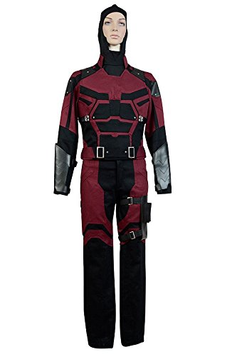 Daredevil Marvel Comics Outfit Cosplay Kostüm (Marvel Kostüme Daredevil Halloween)