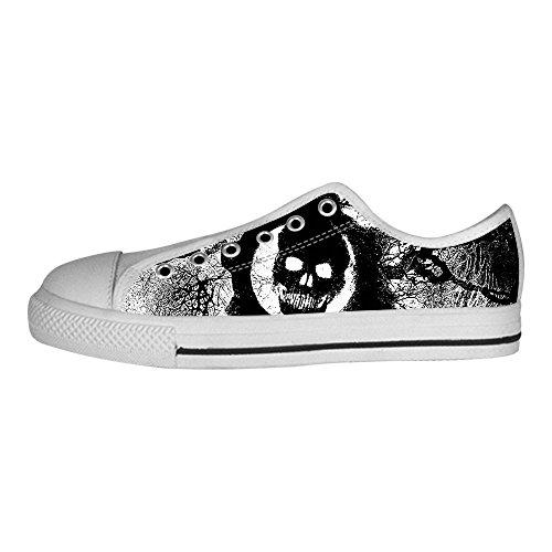 Dalliy Cool Skull Men's Canvas shoes Schuhe Lace-up High-top Sneakers Segeltuchschuhe Leinwand-Schuh-Turnschuhe D
