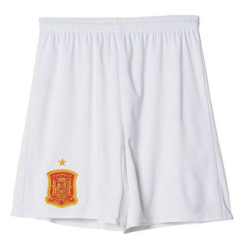 adidas Kinder Trikot/Auswärts-shorts UEFA EURO 2016 Spanien Replica, weiß, 128, AA0809
