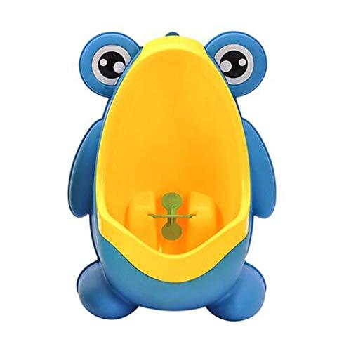 TMY Bidet Baby Boy Töpfchen WC Training Frosch Kinder Stehen vertikale Urinal Boys Pee Infant Kleinkind an der Wand montiert (Color : Yellow) (Wc Bidet Montiert)