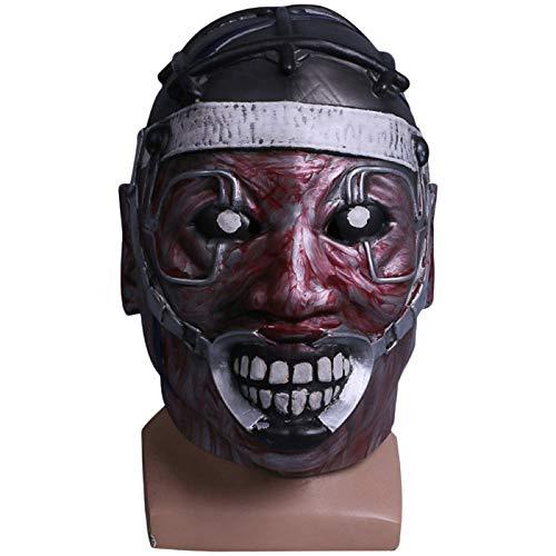 QQWE Stromschlag Arzt Maske Spiel Cosplay Requisiten Grimasse Professor Latex Maske Halloween Weihnachten Maske Haunted House Requisiten,A-OneSize