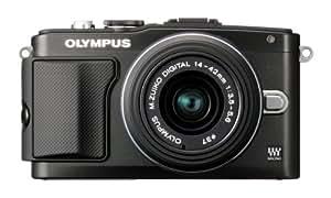 """Olympus PEN E-PL5 DZK Appareil photo numérique compact 16,1 Mpix Écran 3"""" + Objectifs 14-42 mm Noir"""