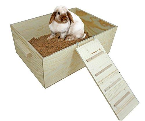Elmato Buddelkiste Kaninchen Hasen XL