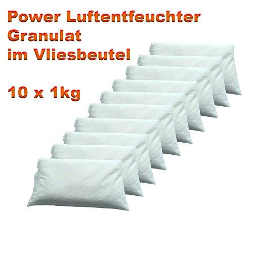 Luftentfeuchter Granulat im Vliesbeutel 10 x 1 kg