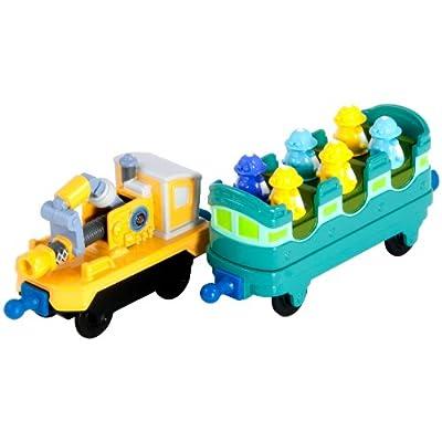 Chuggington LC54029 Chuggington Die Cast - Vagones de juguete fabricados en fundición de Chuggington