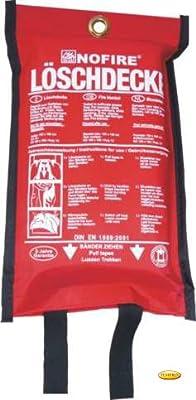 Manta ignífuga Fuego Protección contra incendios-Manta Manta Brand Borrador Poly 120x 180cm