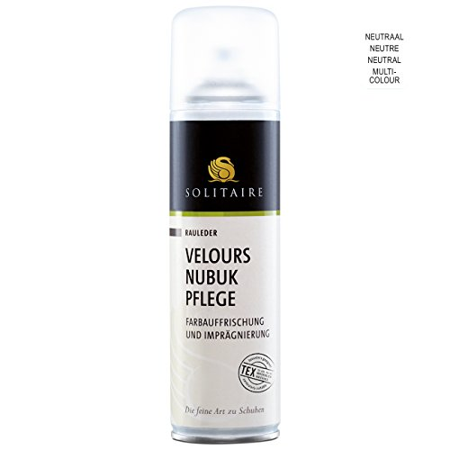 Solitaire Velours Nubuk Pflege Spray neutral, 250 ml