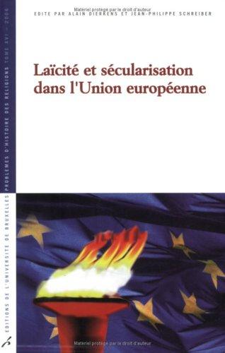 Lacit et scularisation dans l'Union europenne