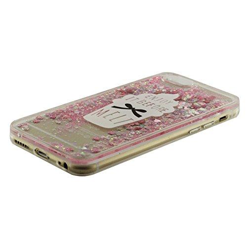 iPhone 6S Plus Coque, Crème glacée Motif Flowable 'Sable / Étoiles