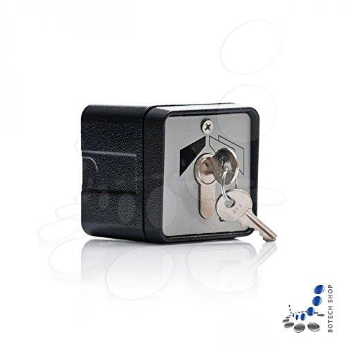 1x Interruptor De Llave Came SET-E (montaje Apparent). El interruptor con llave para abrir y cerrar el portal automática mediante una llave personalizada. El interruptor tiene un cuerpo fabricado en aluminio sólido. Característica: Cilindro europeo....