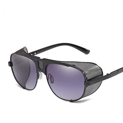 QJKai Sonnenbrille, stilvolle Sonnenbrille mit dicken Krempen, personalisierte Retro-Sonnenbrille