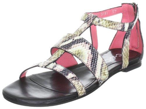 c-doux-6061-damen-sandalen-fashion-sandalen-beige-c-404-negro-multicolor-eu-40