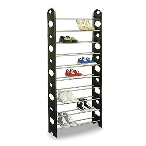 Zapatero robusto para almacenar hasta 30 pares de calzado BN1021