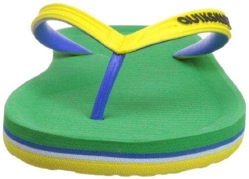 Quiksilver Haleiwa E M Sndl Xgyg, Chaussures de bain homme Vert - Grün (GREEN/YEL/GREEN)