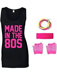 Made in The 80s Ladies Vest & Accessories