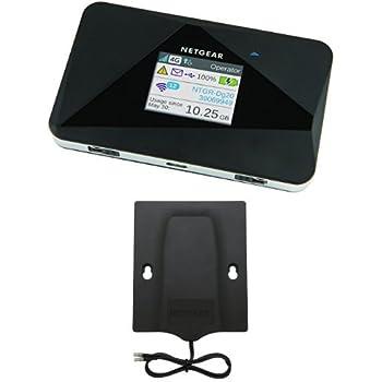 Netgear AC785-100EUS Router Mobile 4G LTE 150 Mbps, WiFi Hotspot Dual Band N, Compatibile 3G, Porta USB, Nero/Antracite  6000450 antenna