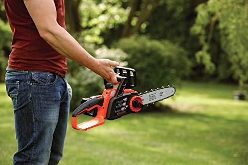 Black+Decker Li Ion Akku-Kettensäge 18V GKC1825L20 mit Akku und Ladegerät / Ideal für Holz- & Gartenarbeiten / 25 cm Schwertlänge - 11
