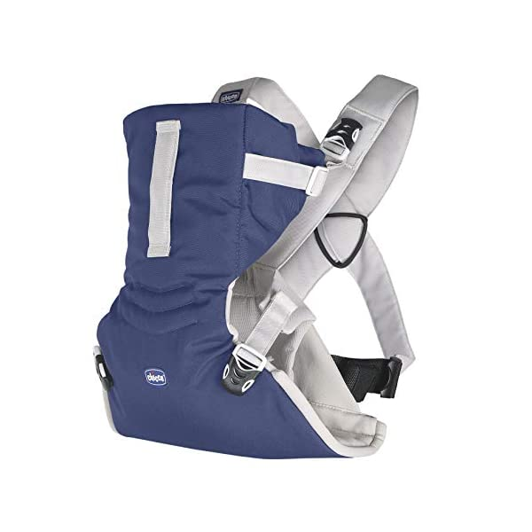 Chicco Easy Fit Sling Blue Passion Chicco The EasyFit is very comfortable for baby and practical for parents. It allows you to transport the child in a stand to parents from birth and facing the road from 4 months. Ergonomic, it ensures the correct position of your baby's hips, M, recommended by pediatricians. 1
