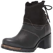 Fly London Women's LESI471FLY Ankle Boots, Black (Black 004), 3 UK 36 EU