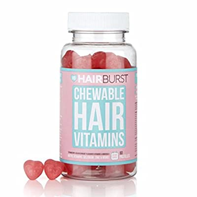 HAIRBURST TM CHEWABLE Vitamins for Hair Growth - One Month Supply - 60 GUMMIES - Faster Hair Growth and Money Back Guarantee from Hairburst Ltd