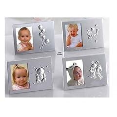 Idea Regalo - Portafoto Metallo Motivos Bebé