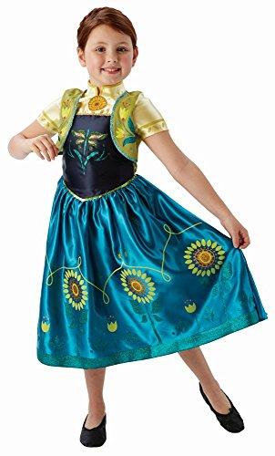 inder Kostüm Prinzessin Anna Fever Gr.M(5-6J.) (Frozen Fever Kostüme)