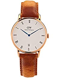 Daniel Wellington Dapper Damen-Armbanduhr Analog Quarz Leder - DW00100113