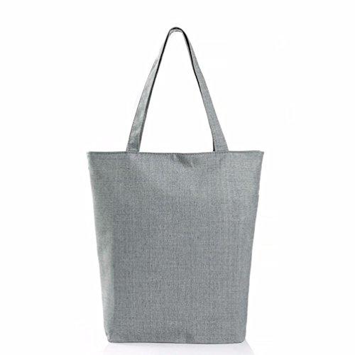 Saingace Eule druckte Segeltuch-Beutel-beiläufige Strand-Beutel-Frauen-Einkaufstasche-Handtaschen C