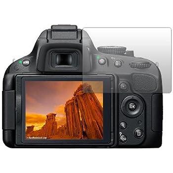 2x Displayschutz Folie Klar für Nikon D700 Schutzfolie Displayfolie