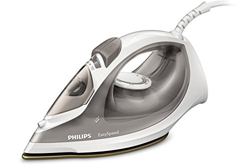 Philips EasySpeed gc1029/90 Steam Iron Ceramic Soleplate 2000 W Grey, White Iron - Irons (Steam Iron, Ceramic Soleplate, 100 g/min, Grey, White, 25 g/min, 0.2 L)