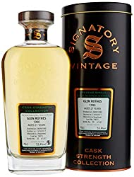 Signatory Vintage Glenrothes 27 Years Old Cask Strength Collection mit Geschenkverpackung Whisky (1 x 0.7 l)