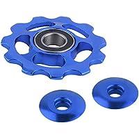 Cutowin 11Tooth MTB - Rodamiento de cerámica para Bicicleta de Carretera, Azul