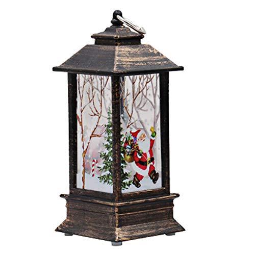 rryilong LED-Kerzen, für den Außenbereich, Vintage, mit LED-Lampion, Flamme, wiederaufladbar, für Home Decor/Weihnachtsdekoration 2