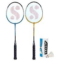 Silver's Unisex Adult Sil-Drive-Combo 5 Aluminum Badminton Set - Multicolor, G3