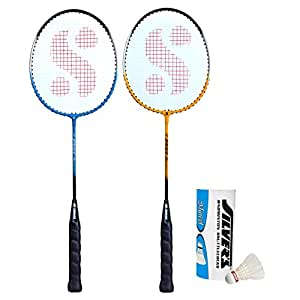 Silver's SIL-Drive-Combo-5 Aluminum Badminton Set