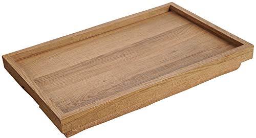 Kesper Servier-und Knietablett, 77621, Maße: 54 x 32 cm/Höhe: 7,5 cm, Holz