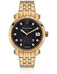 Chrono Diamond Reloj con movimiento cuarzo suizo Woman 10610G Nesta Dorado