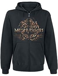 Meshuggah Snakes Sweat à capuche zippé noir
