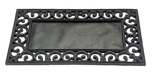 Felpudos Exteriores  (caucho), color negro
