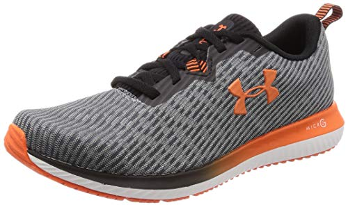 Under Armour Micro G Blur 2, Scarpe Running Uomo, Nero (Black/Onyx White/Papaya 001), 42.5 EU