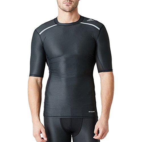 adidas Herren T-shirt Techfit Chill Black, S