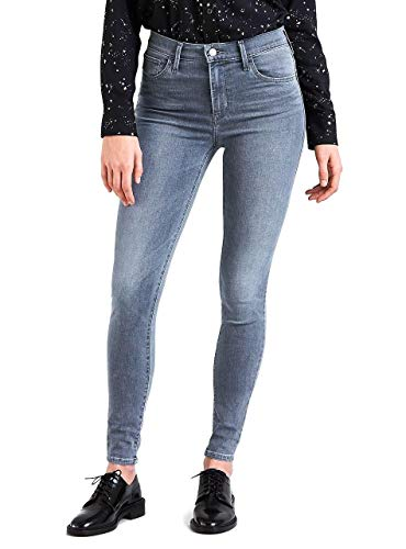 Levis Damen Jeans 720 HIGH Rise SUPER Skinny 52797-0023 Grau, Hosengröße:28/30
