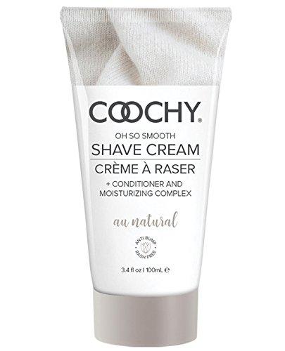 Moisturizing Shave Gel (Classic Erotica Coochy Shave Cream Au Natural White, 100 ml)