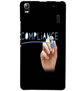 LENOVO A7000 COMPLIANCE Back Cover by PRINTSWAG