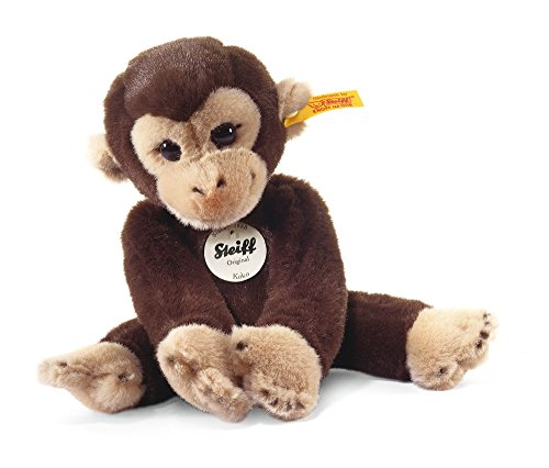 Steiff-25cm-Little-Friend-Monkey-Koko-Dark-Brown