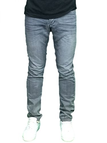 Gabba Herren Jeans Hose Vintage grau : 30-32 grau Grau